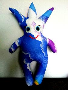 Kindergartengruppe: Maskottchen für die Regenbogenkinder